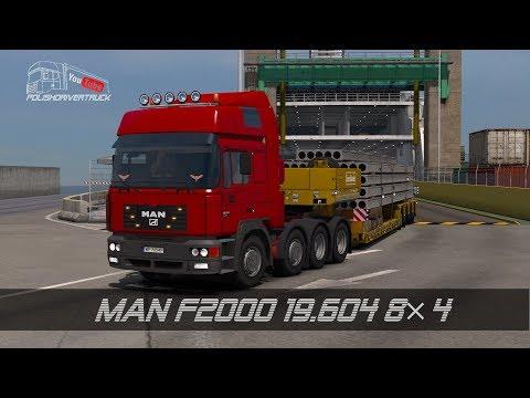 MAN F2000 19.604 8×4 1.28.x