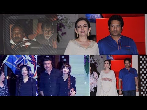 Amitabh Bachchan | Sachin Tendulkar At Grand IPL Winning Party Host By Nita Ambani