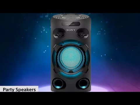 Unboxing🔥Sony MHC-V02 Home Audio Portable Party Speaker🔥