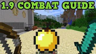 Minecraft 1.9 The Combat Update - Combat Changes Tutorial