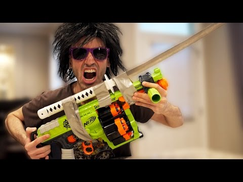 Video DEADLY NERF GUN MOD! download in MP3, 3GP, MP4, WEBM, AVI, FLV January 2017