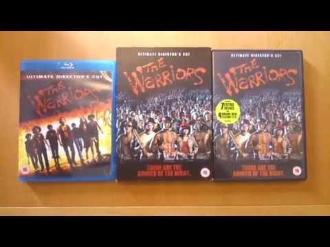 THE WARRIORS, dvd's and blu-ray