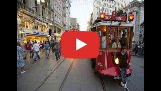Video Istanbul - Taksim with Tramway ... MP3, 3GP, MP4, WEBM, AVI, FLV September 2018