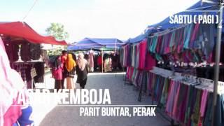 Parit Buntar Malaysia  City pictures : Menarik di Perak Utara - Pasar Kemboja, Parit Buntar