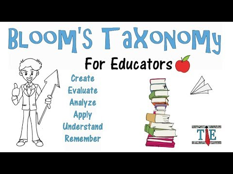 bloom s taxonomy of education and its
