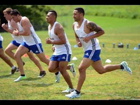 2014 Blues pre-season training day 1: Yoyo fitness test