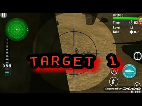 MOUNTAI SNIPER SHOOTING-TARGET 1 (видео)