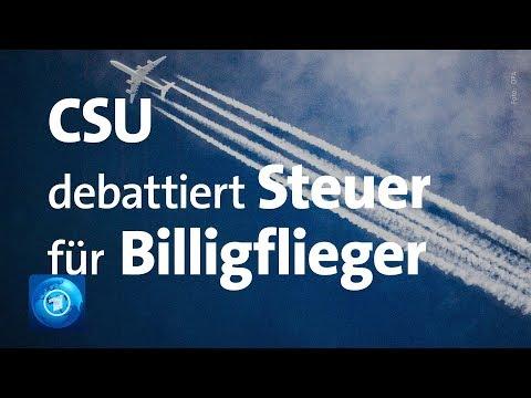 CSU: Dobrindt will zum Klimaschutz Strafsteuer auf Billigflüge, Blume widerspricht