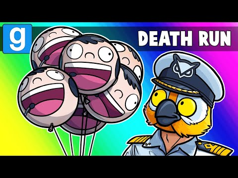 Garrys Mod - Gmod Death Run Funny Moments - Summer Cruise at Terror Island! (Garry's Mod)