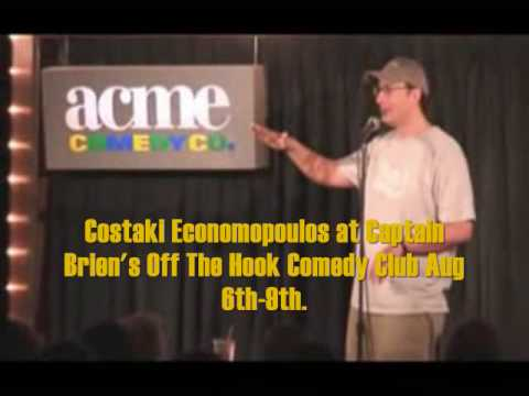 Costaki Economopoulos Live at Off The Hook Comedy Club!