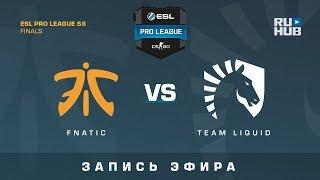 Fnatic vs Team Liquid - ESL Pro League Finals - de_mirage [ceh9, CrystalMay]