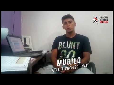 AGAP - SP Jogador Murilo agradece pela parceria