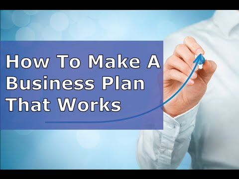 A Business Plan Outline That Works – Simple and Effective