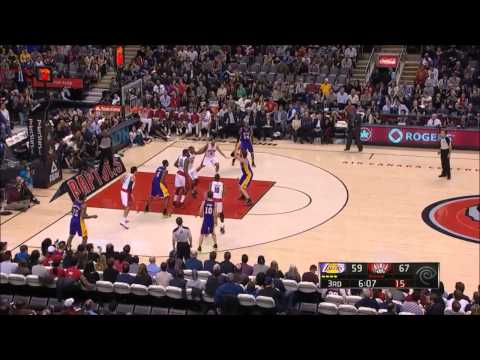 Pau Gasol 25 Points vs. Raptors Full Highlights (1/20/2013)