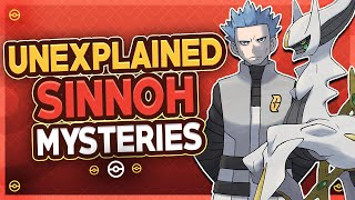 5 Unexplained Mysteries From Every Pokémon Generation - Sinnoh by HoopsandHipHop