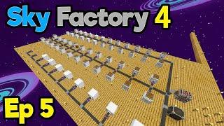 We Are Hoarders *dum dum dum dum dum dum dum* | Minecraft Modpack: Sky Factory 4 | Ep. 5