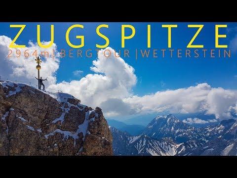 Zugspitze 2964m über Stopselzieher Klettersteig  | Trainingstour über die Westseite | Wetterstein