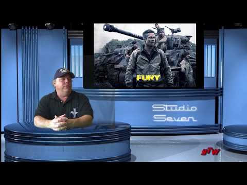 Studio Seven Movie Review     Fury     WWII     Drama      2014