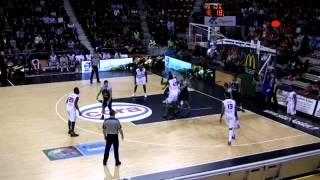 Gerald Robinson Apollon (Cyprus) vs Nancy (France Pro A)  #8 Blue 18 points, 6 Reb