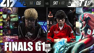 Video CLG vs SK Telecom T1 | Game 1 Grand Finals LoL MSI 2016 | CLG vs SKT G1 MSI 1080p MP3, 3GP, MP4, WEBM, AVI, FLV Agustus 2018