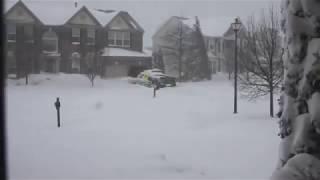 Leesburg (VA) United States  city photos : 2016 Blizzard Full Time Lapse - Leesburg, VA