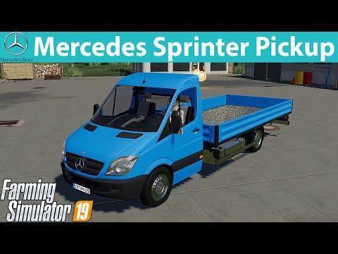 Mercedes Sprinter Pickup FS19 v1.1