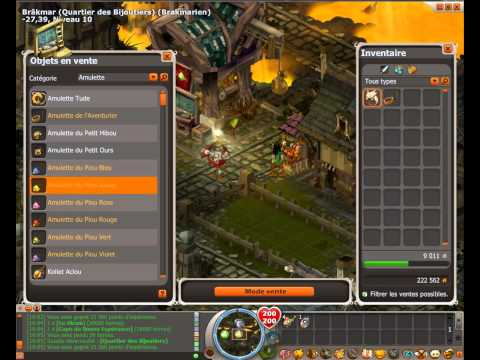 comment augmenter cc dofus
