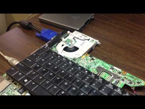 Chattanooga laptop repair of a HP DV9700 Bricked BIOS repair fixing