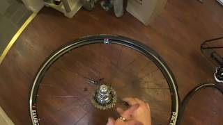 This video shows the trick to mounting tires on a Pacenti SL23 V2 rim sans tools. The tire used was a Continental Grand Prix 4000 S2 fresh out of the box.