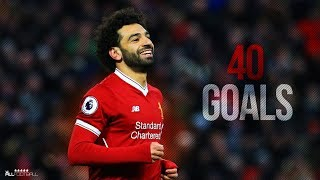 Download Video Mohamed Salah - First 40 Goals for Liverpool 2017/18 | HD MP3 3GP MP4