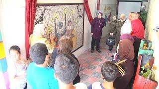 إفتتاح جدارية إستكمالاً لفعاليات يوم الطفل الفلسطيني في المركز الثقافي لتنمية الطفل