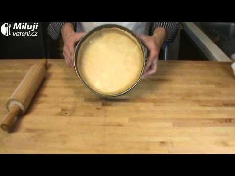 Krémový hruškový koláč