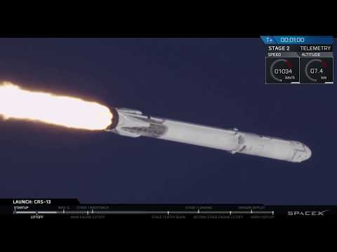 CRS-13 Hosted Webcast (видео)