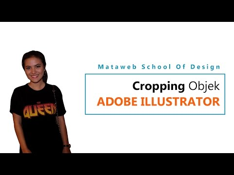 Tutorial Illustrator - Cropping Objek Adobe Illustrator