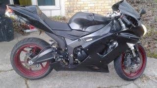 9. 2006 Kawasaki Ninja zx6r 636