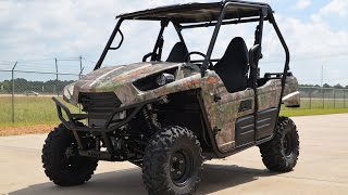 4. SALE $11,699:  2015 Kawasaki Teryx Camo Overview and Review