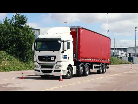 Mainstream Group Lorry Reversing Artic   14 09 17