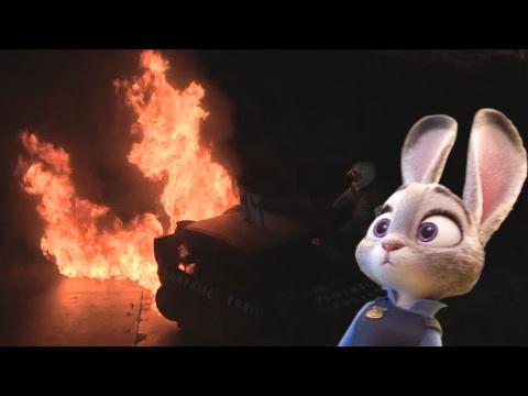 Judy goes RACING!