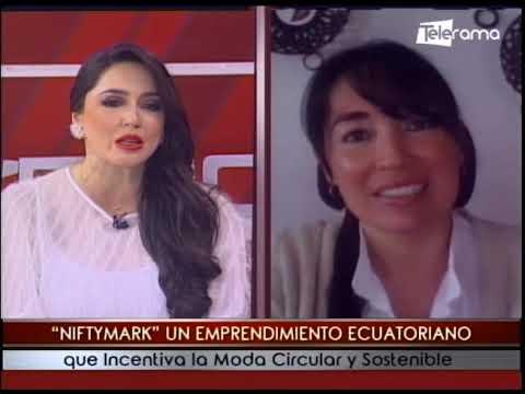 Niftymark un emprendimiento ecuatoriano que incentiva la moda circular y sostenible