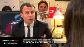Video «En direct de Mediapart» : Macron l'antisocial ? MP3, 3GP, MP4, WEBM, AVI, FLV Agustus 2017