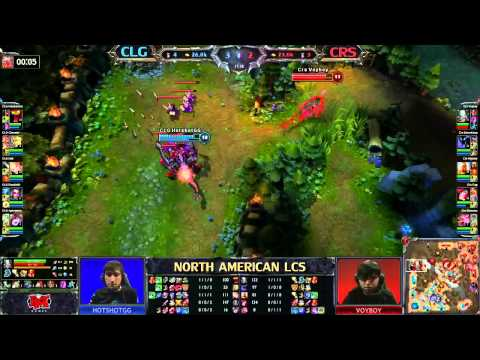 curse - League of Legends Counter Logic Gaming (CLG) vs Curse Gaming (CRS) - LCS 2013 NA Spring W4D2.