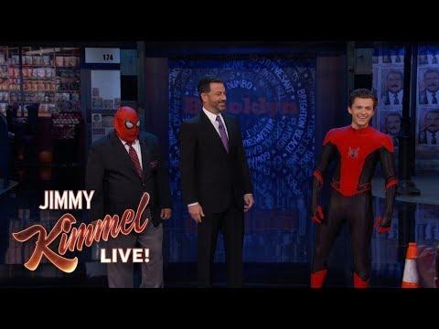 Guillermo vs Spider-Man Tom Holland