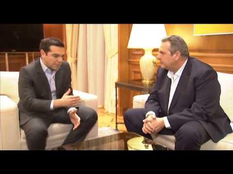 Συνάντηση με τον πρόεδρο των Ανεξάρτητων Ελλήνων κ. Πάνο Καμμένο