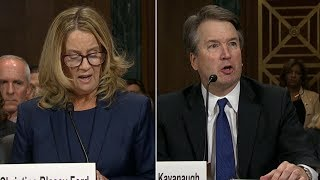 Brett Kavanaugh and Christine Blasey Ford testify in Supreme Court hearing