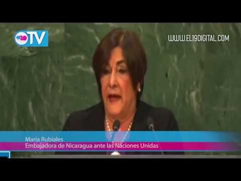 Nicaragua se pronuncia en la ONU a favor de levantar el bloqueo contra Cuba