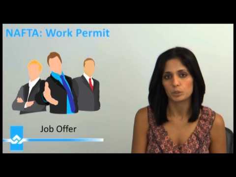Where to File a NAFTA Work Permit Video
