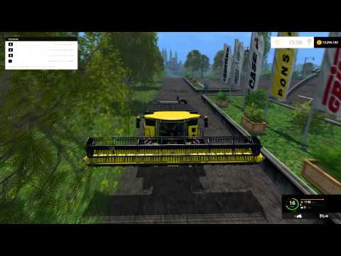New Holland CR9.90 Yellow v1.1