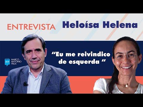 "Heloísa Helena: ""Eu me reivindico de esquerda """
