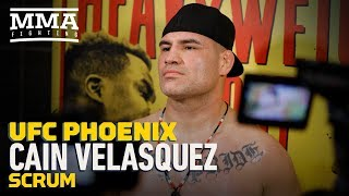 Video UFC Phoenix: Cain Velasquez Says Going For Early Takedown on Francis Ngannou Probably Won't Work MP3, 3GP, MP4, WEBM, AVI, FLV Februari 2019