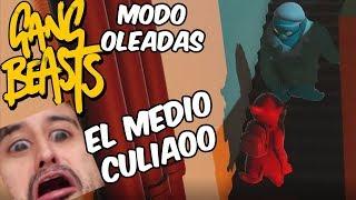 EL TERRIBLE GIGANTE! Gang Beast en Español - GOTH
